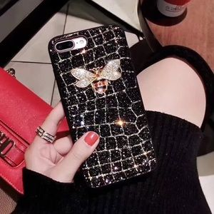 Accessories - 🐝Bee Bling + Glitter IPhone Case